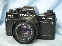 ' BCA ' Praktica BCA SLR Camera + 50mm Lens £19.99